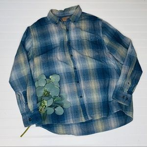 Clear Water Outfitters Plaid Flannel Shirt